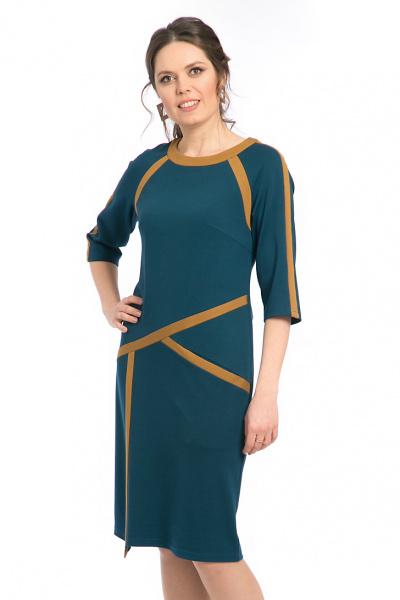 Платье с вставками,  П-538/1